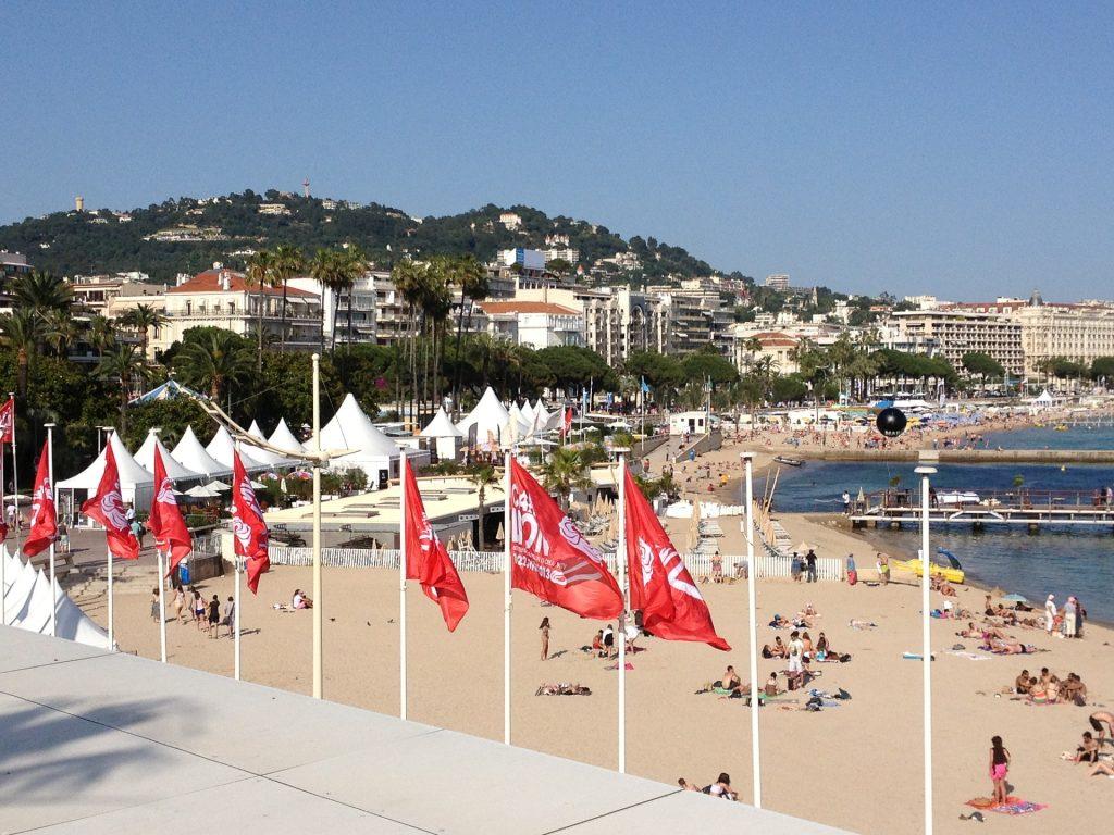 Plage à Cannes